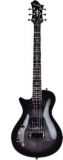 Hagstrom Ultra Swede Lefthand - Cosmic Blackburst