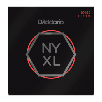 D`Addario NYXL1052 Nickel Wound Electric Guitar Strings, Light Top / Heavy Bottom, 10-52