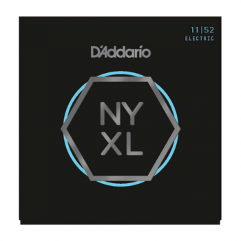 D`Addario NYXL1152 Nickel Wound, Medium Top / Heavy Bottom, 11-52