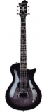 Hagstrom Ultra Swede - Cosmic Blackburst