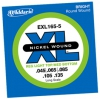 D`Addario E-Bass  EXL165-5  / Stärke 045 - 135 / long scale