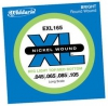 "D`Addario E-Bass ""Twin Pack""  EXL165TP / Stärke 045 - 105 / long scale"